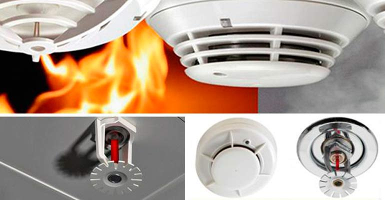 Detectores de incendios