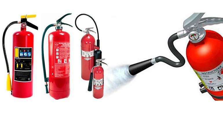 Extintores para todo tipo de fuegos